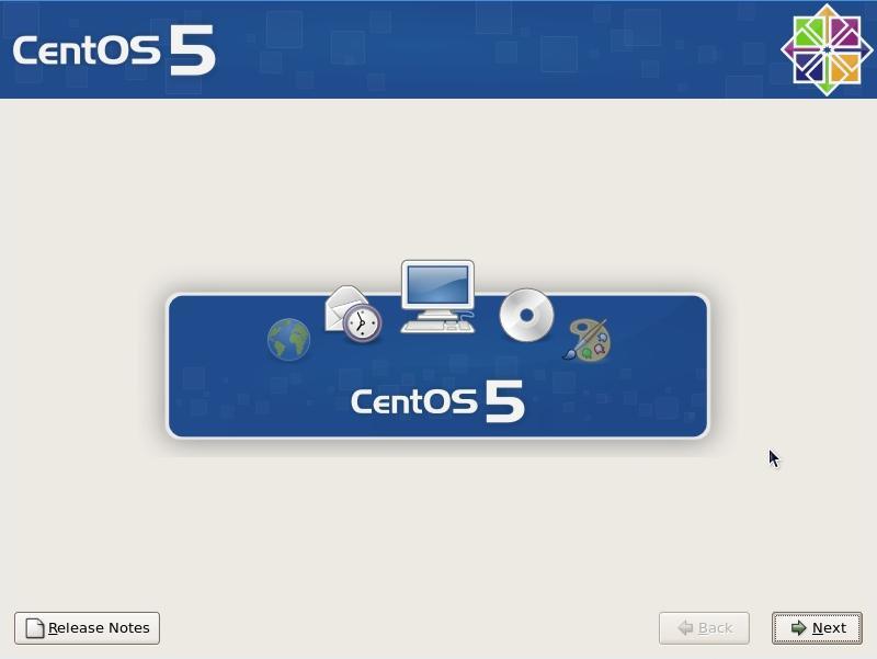 centos52 install 3